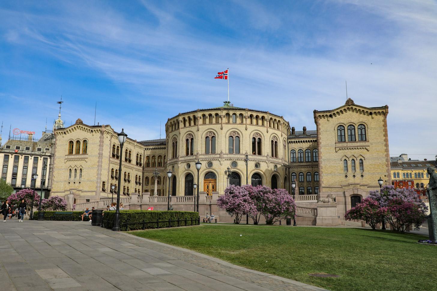 Stortinget: het parlementsgebouw van Noorwegen.