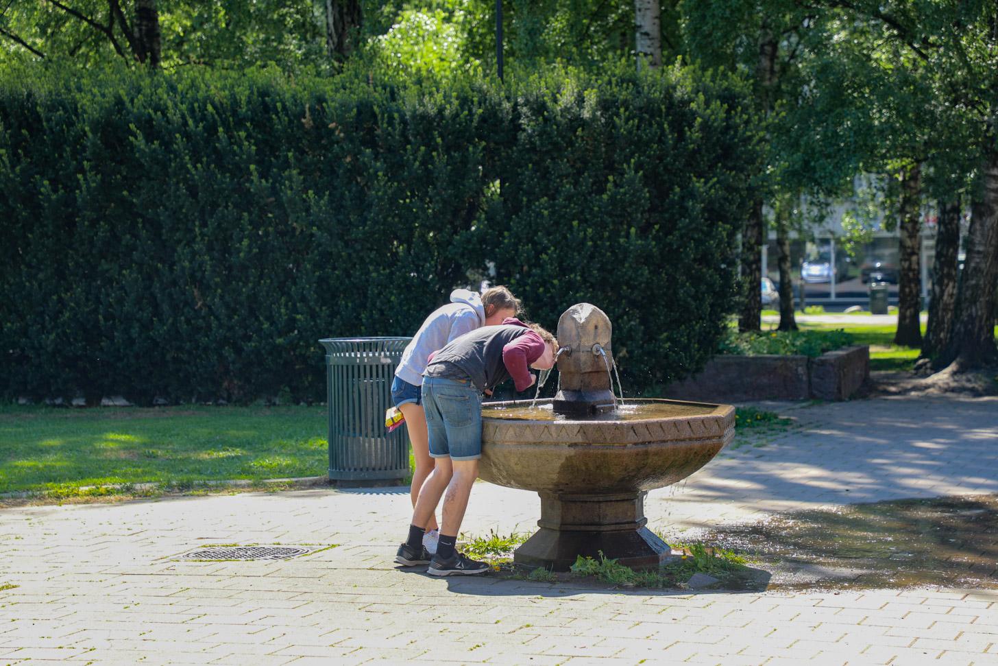 Gratis drinkwater in Oslo