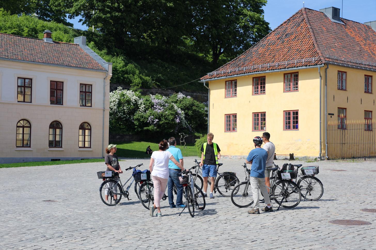 Fietstocht door Oslo met gids