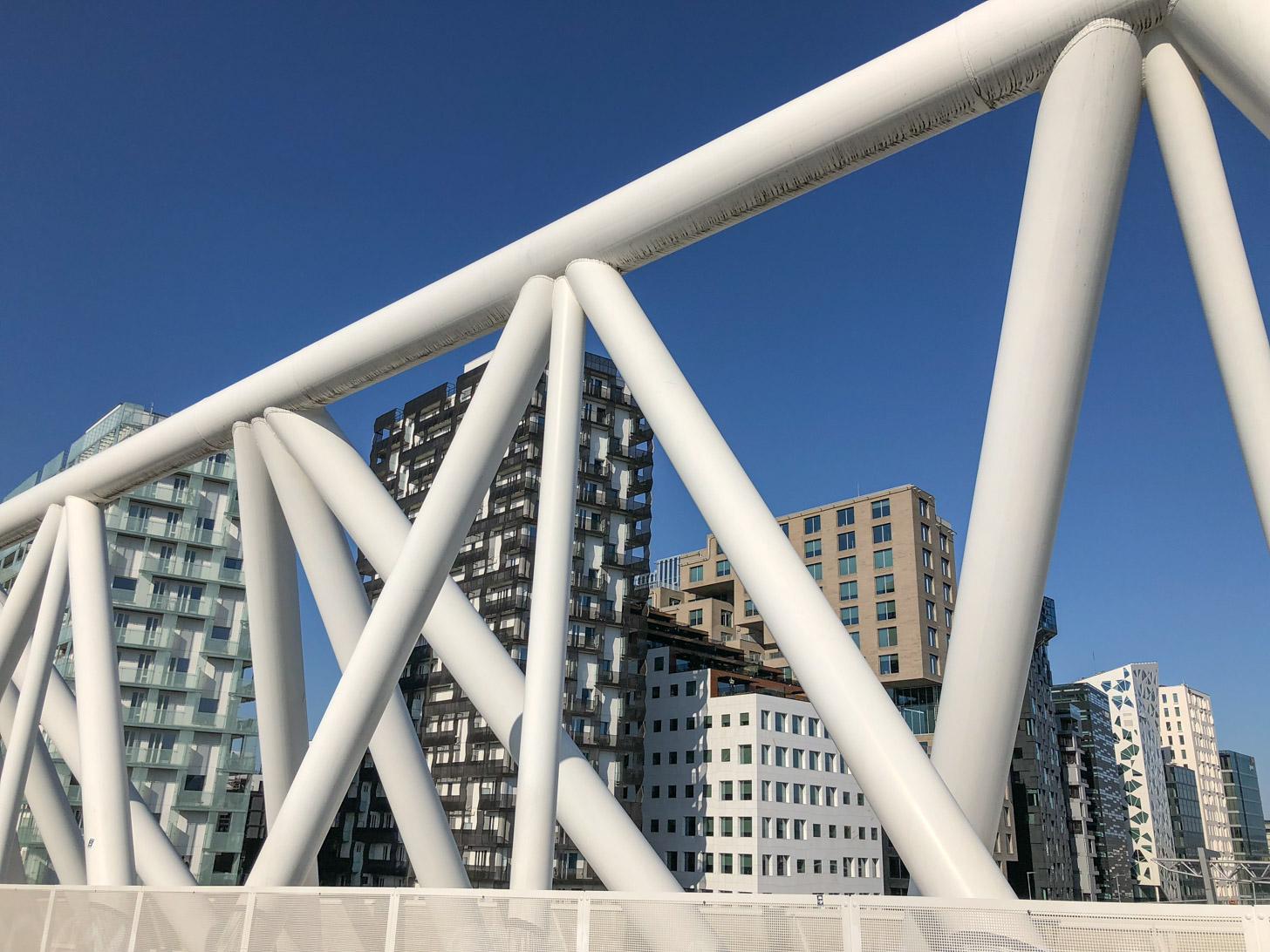 Moderne architectuur in Oslo