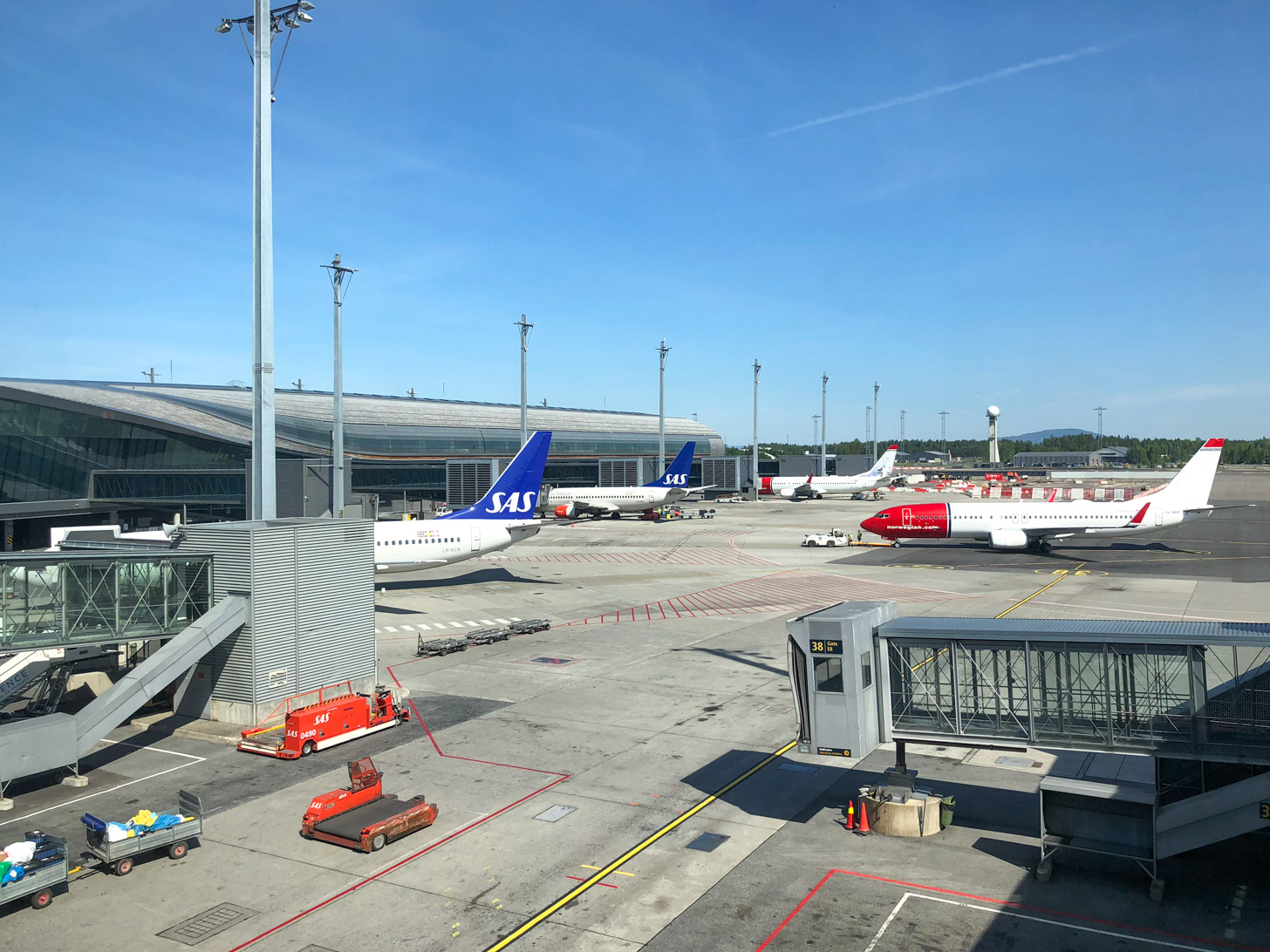 Vliegen naar Oslo