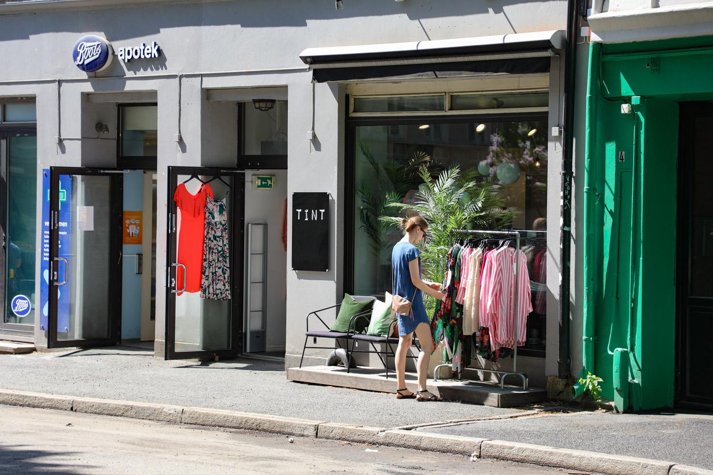 winkelen in Oslo