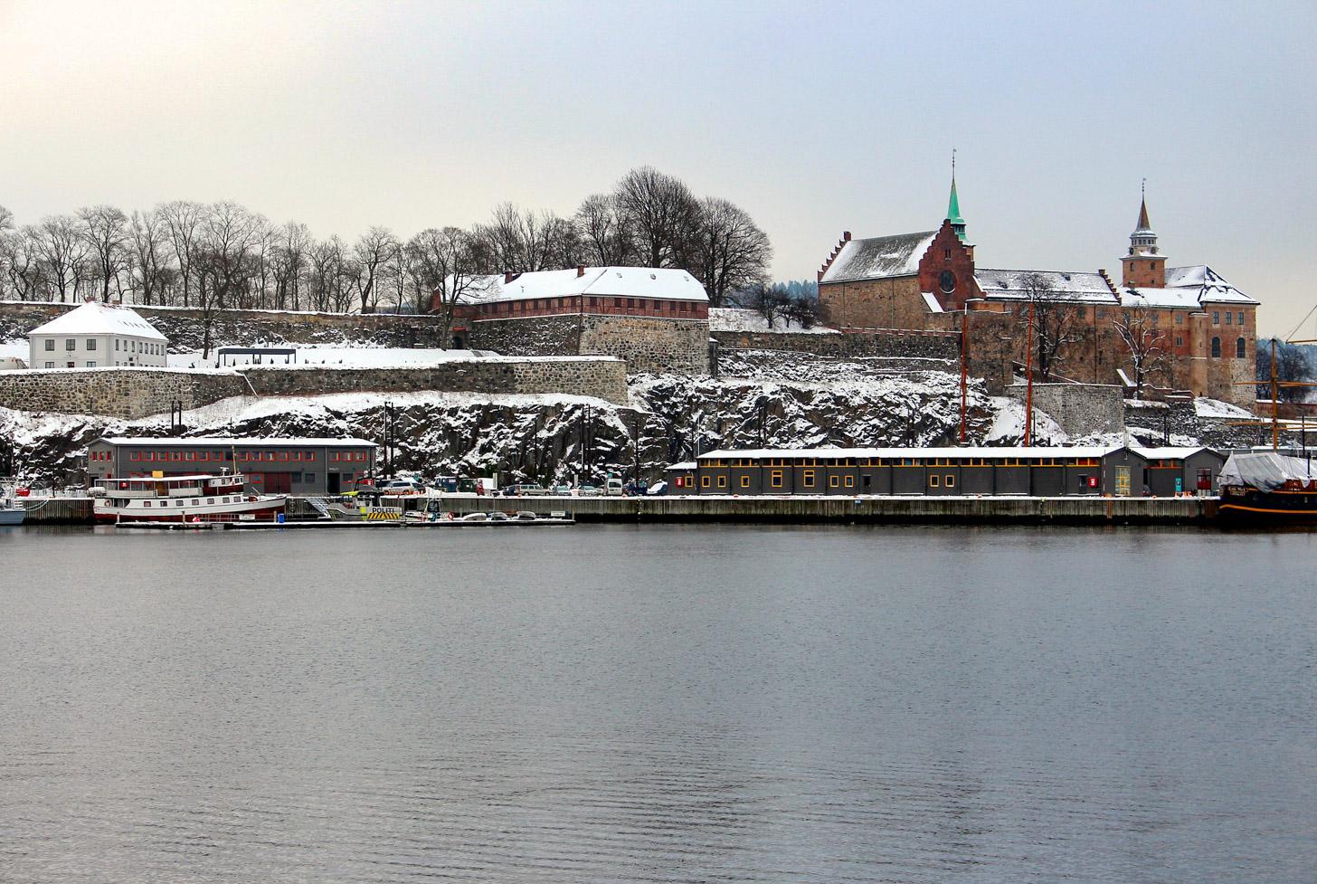 Tijdens de winter heb je kans op sneeuw in Oslo